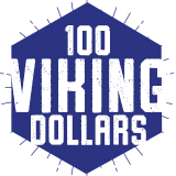 100 Viking Dollars