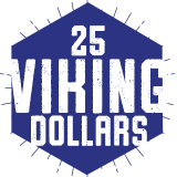 25 Viking Dollars