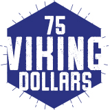 75 Viking Dollars