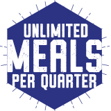 Unlimited Meals Per Quarter